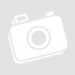 Ezüst Peremes Üveg Kínáló Kerek