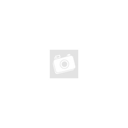 Olasz Design Industrial Vas Asztal Fekete Lábakkal Üveglappal