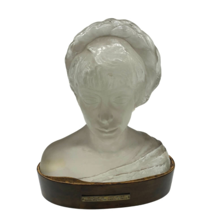 Szentesy Hiesz Géza- Maria Del Villar- Üvegszobor- Lalich Tanítványa-Art Deco